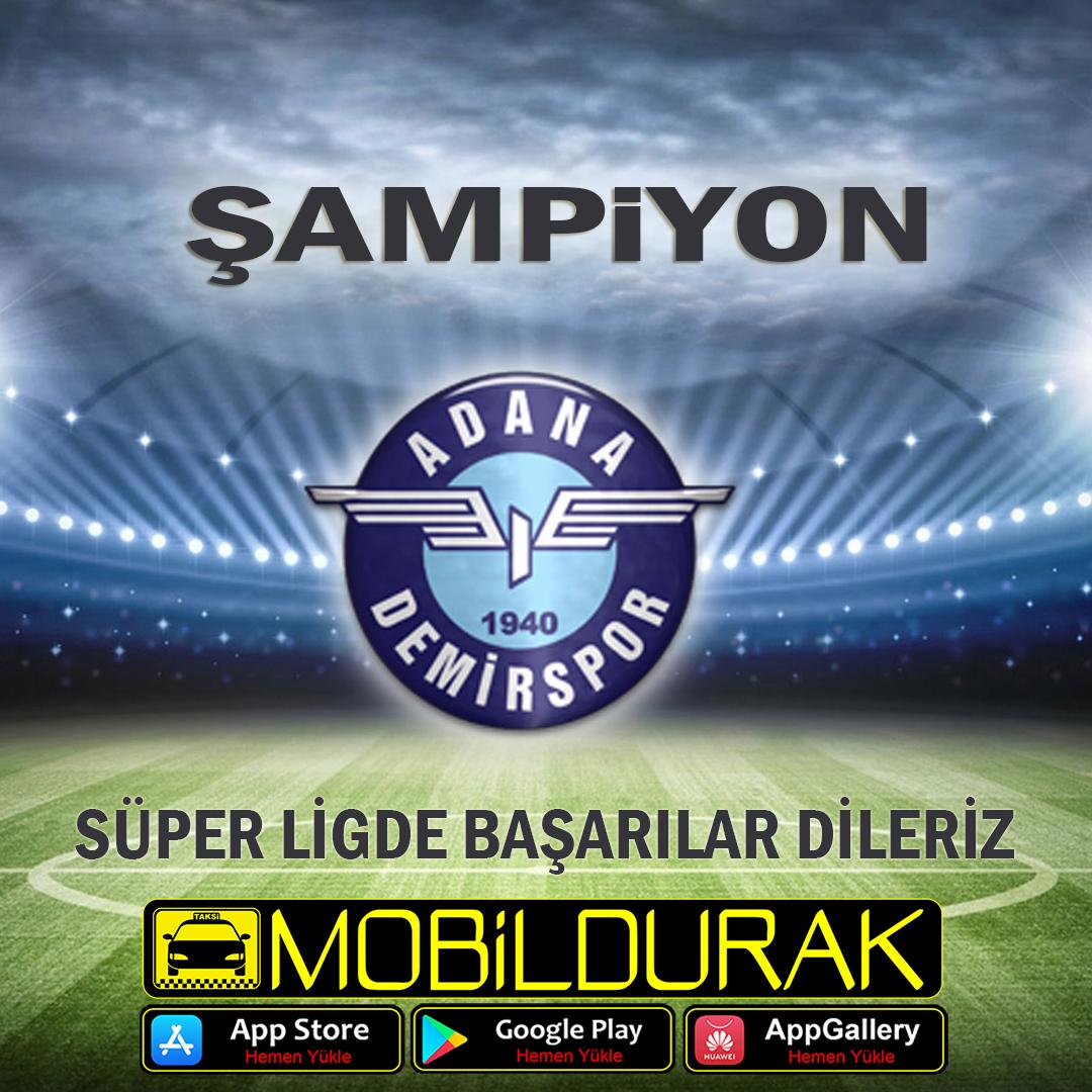 TFF;Adana Demir Spor;�ampiyon;Adana;Futbol;S�per Lig;Lig;�ampiyonluk;Ba�ar�;Lig �ampiyonu;Spor;T�rkiye Futbol Federasyonu;S�per Lig �ampiyonu